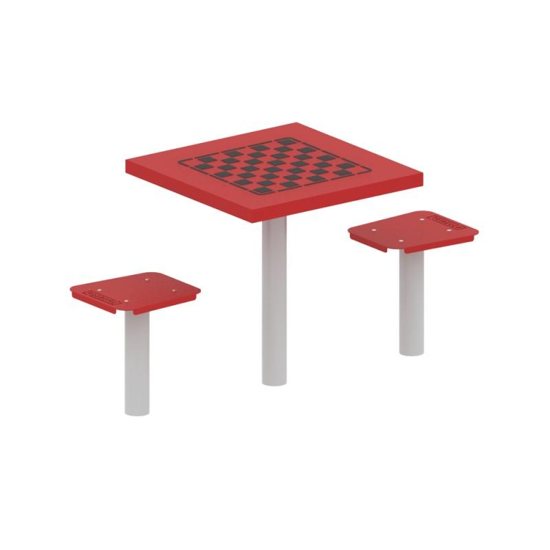 Stolik do gry planszowej dwuosobowy - szachy