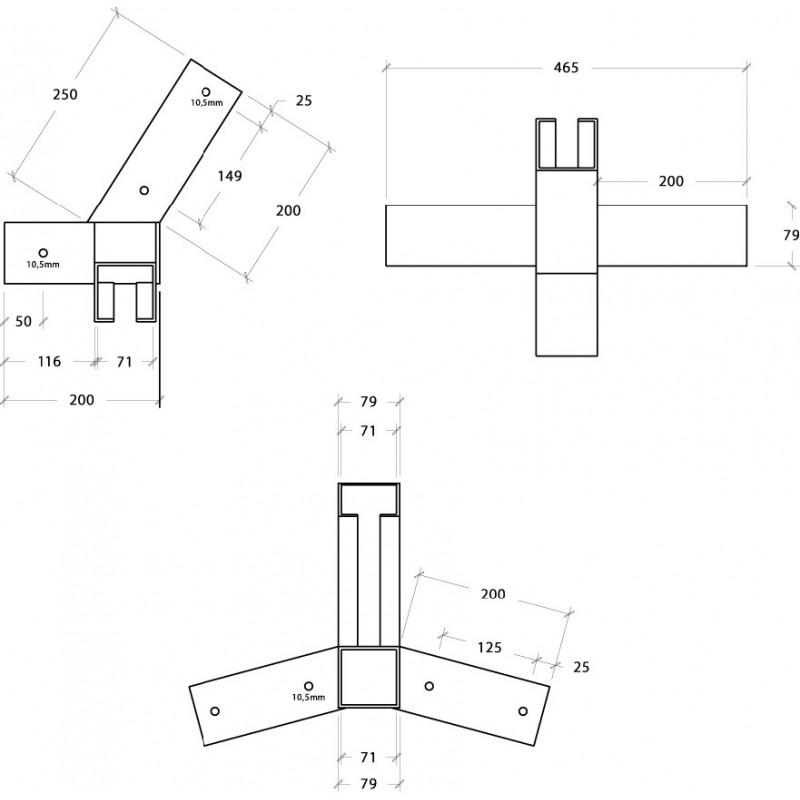 Zestaw do konstrukcji hamaka (bez drewna)