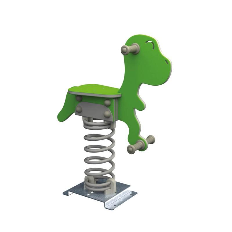 """Bujak ogrodowy na sprężynie """"T-rex"""""""