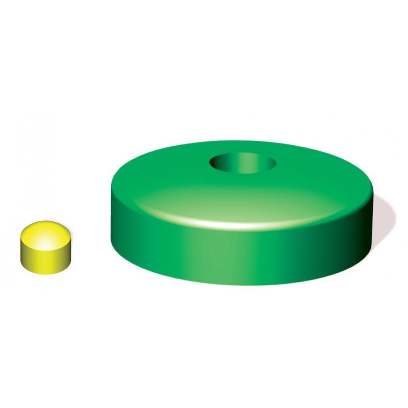 Nasadka na belkę okrągłą 100 mm