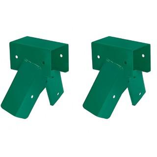 Zestaw montażowy łączniki 90x70 | 100 stopni