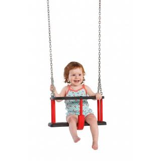Siedzisko kubełkowe na plac zabaw z łańcuchem ze stali nierdzewnej Basic