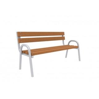 Stelaż do ławki z oparciem