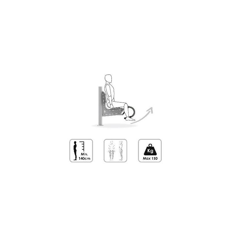 Hydrauliczny trenażer nóg