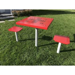 Stolik do gry w chińczyka - 2 osobowy