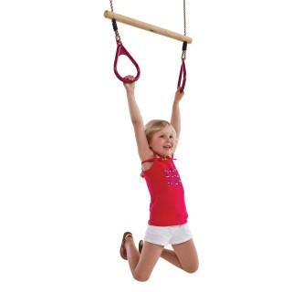Huśtawka trapez z rączkami na plac zabaw