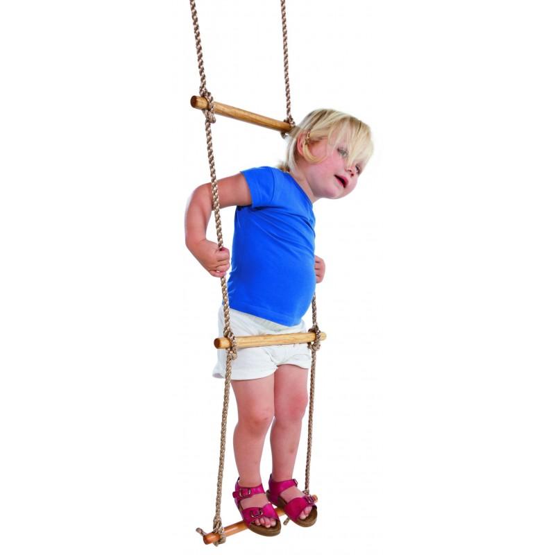 Drabinka wspinaczkowa na plac zabaw
