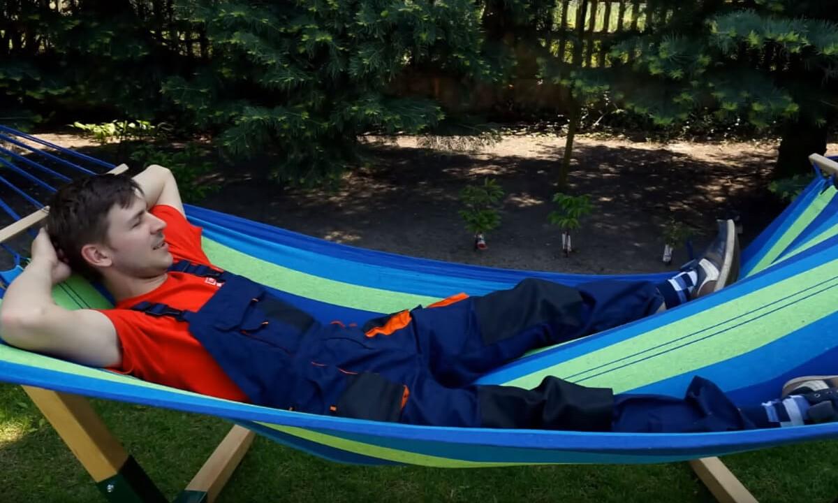 Jak zbudować hamak - relaks w hamaku