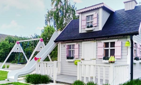 Akcesoria do domku dla dzieci - super wyposażenie placów zabaw