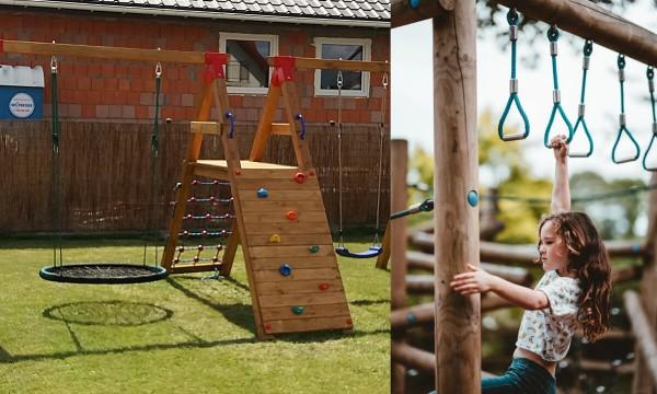 Oryginalne sposoby na urządzenie placu zabaw w ogrodzie