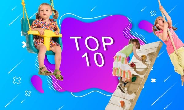 TOP 10 PRODUKTÓW NA PRZYDOMOWY PLAC ZABAW
