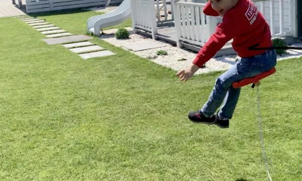 Jak zrobić zjazd linowy dla dzieci?