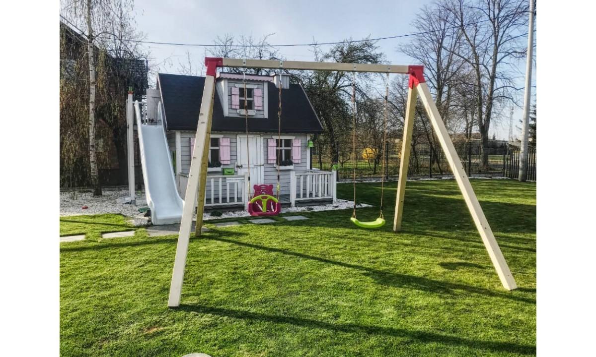 Zestawy montażowe do huśtawki - szybki sposób na budowę placu zabaw